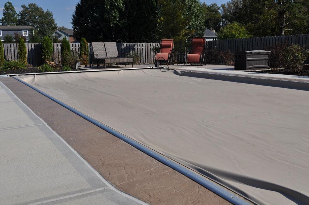 pool deck, slate roller, mocha base, autumn brown release 3