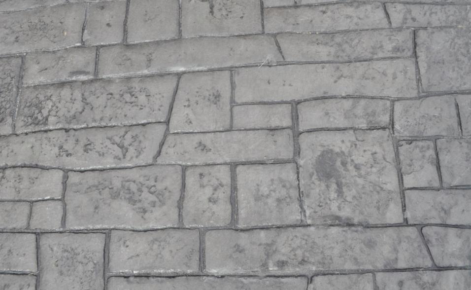 Appian Cobblestone, platinum Gray base, charcoal gray release