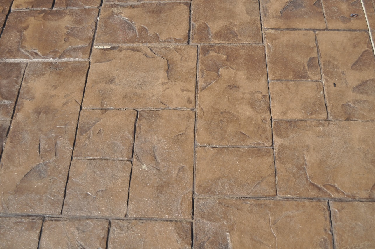 Ashlar Cut Slate, Mesa Buff, Autumn Brown