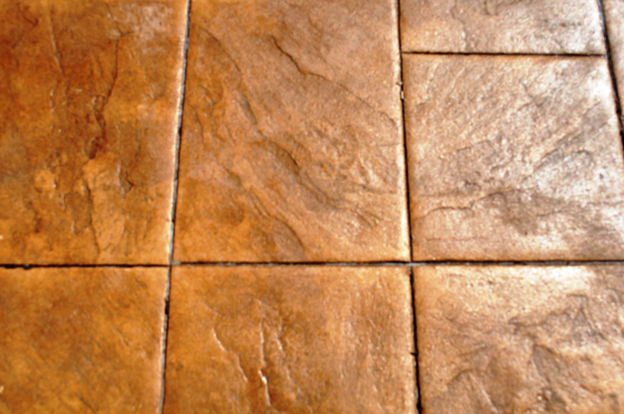 Large Ashlar, Mesa Buff, Autumn Brown