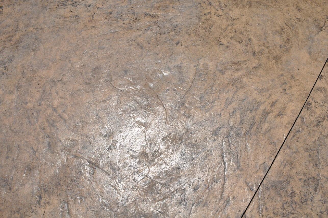 textured Italian slate, desert sand, dark walnut