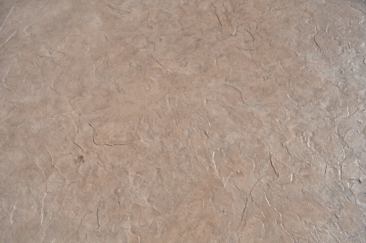 Textured Roman Slate Pattern, Bisque, Autumn Brown