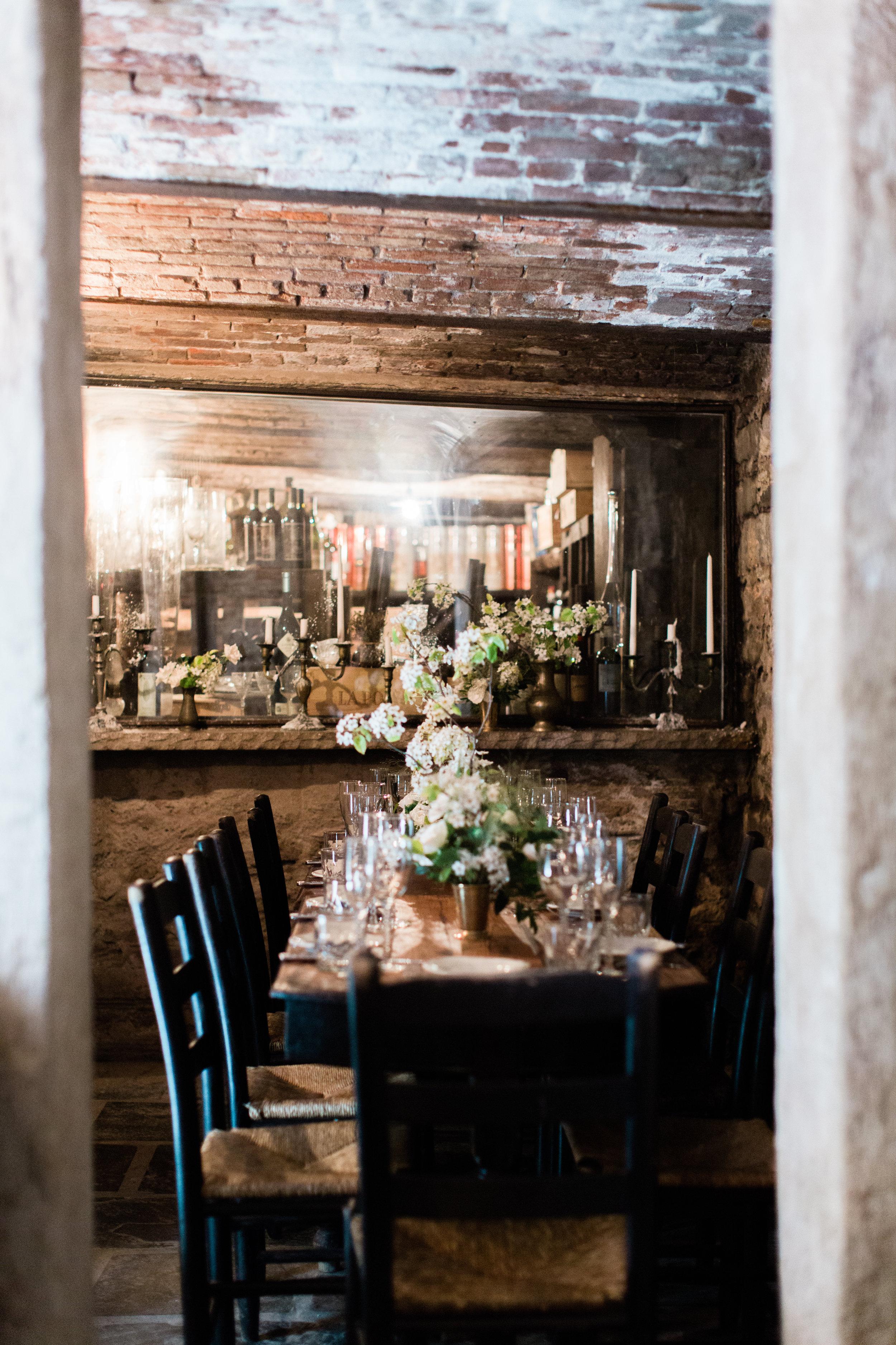 Downstairs, Small Vault Room  © Heather Waraksa, photographer