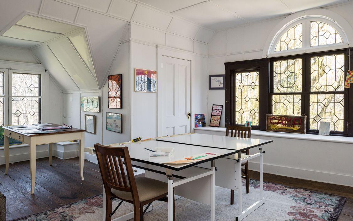 Attic Art:Crafts Room Dobbs Ferry House.jpg