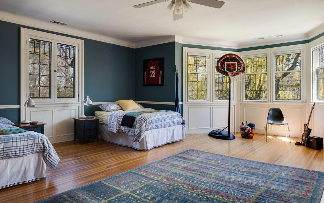 Dark Teal Bedroom Dobbs Ferry House.jpg