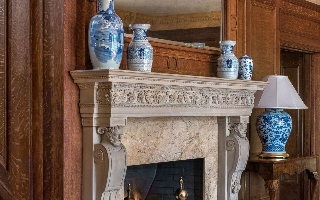 Fireplace:mantel Dobbs Ferry House.jpg