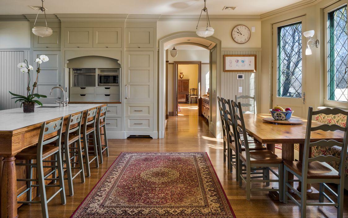 Kitchen and Breakfast Nook Dobbs Ferry House.jpg