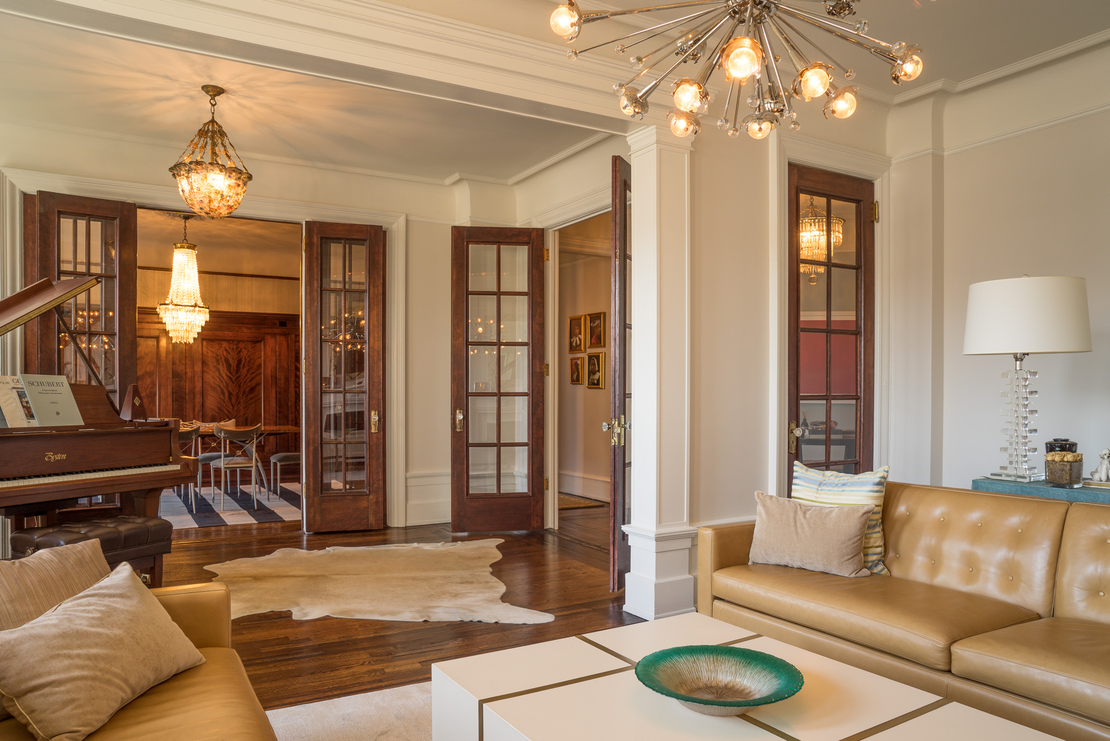 Upscale UWS Living Area at The Grinnel