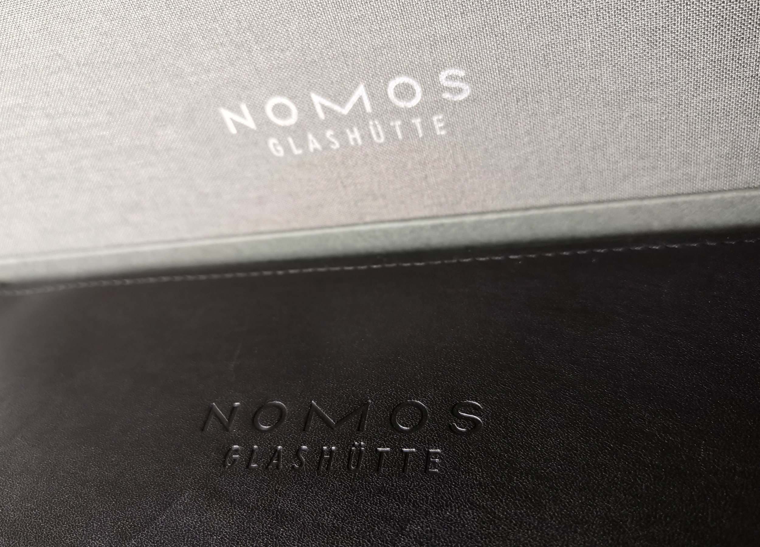NOMOS keeps it clean and tidy.