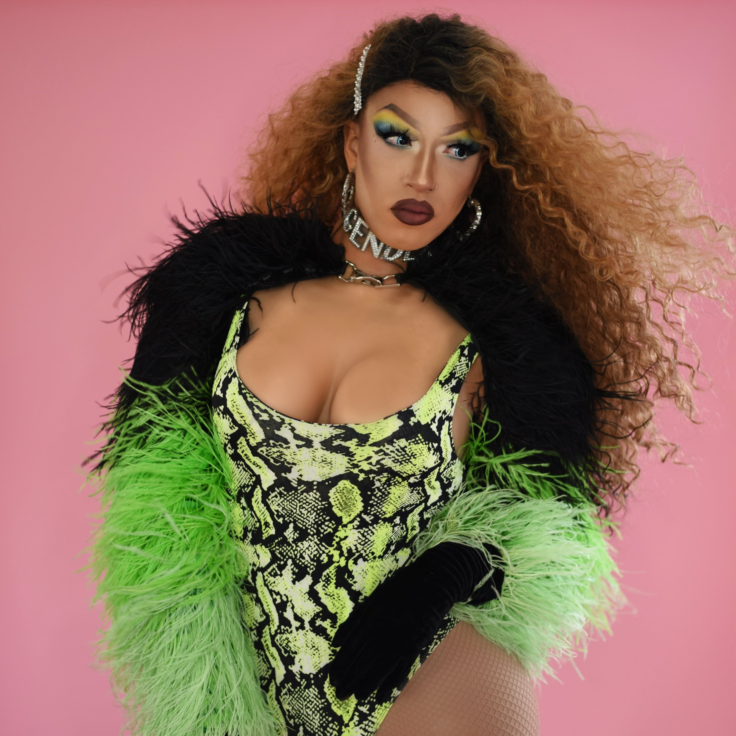 "kendall gender - Kendall Gender is a local drag performer in Vancouver. With a flare for fashion and an always energetic performance style she is quite hard to miss. Kendall has a weekly show at the junction with her girl gang ""BRATPACK"", and hosts and performs at a slew of various parties and events all over Vancouver and Canada.@kendallgender"
