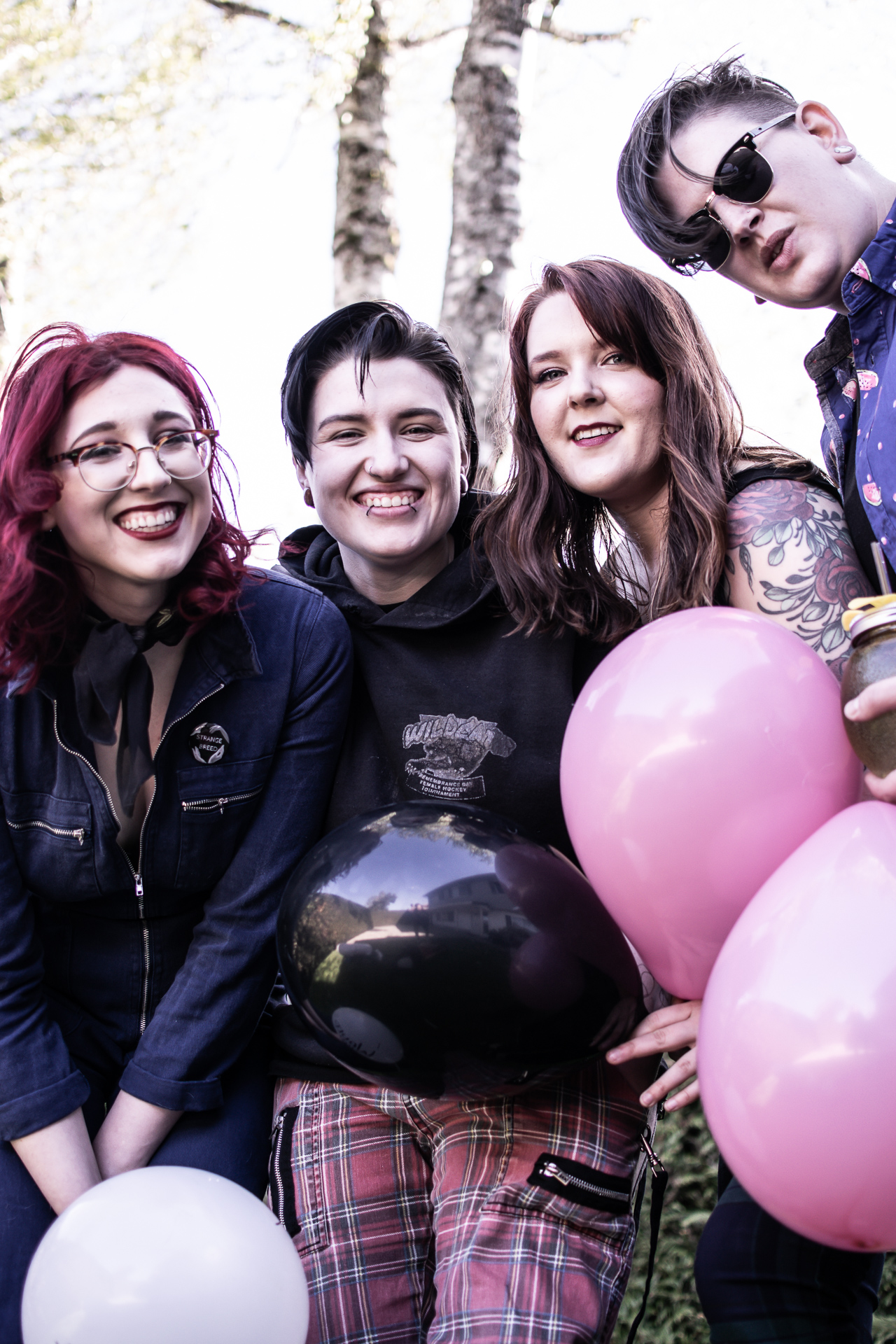 strange breed - 4 piece, queer, alt-garage rock band based out of Vancouver, BC.Sounding like every 90's riot grrrl fans' feminist wet dream, with an unexpected modern rock twist. Safe spaces, inclusivity, good times and great music is what these babes are all about.@strangebreedband