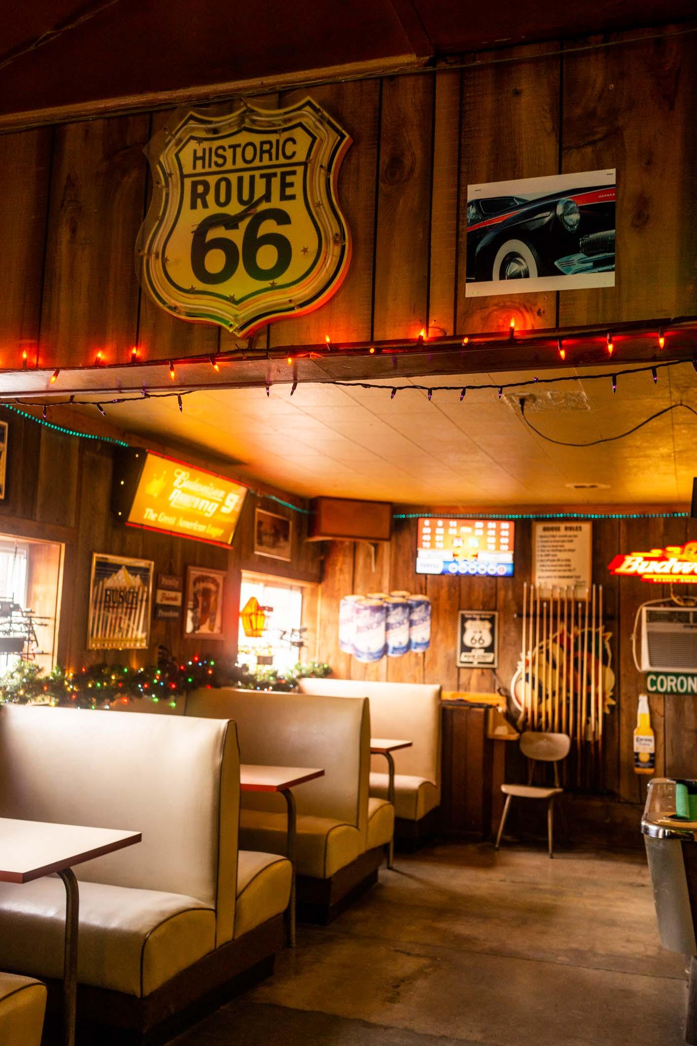 Route 66 bar