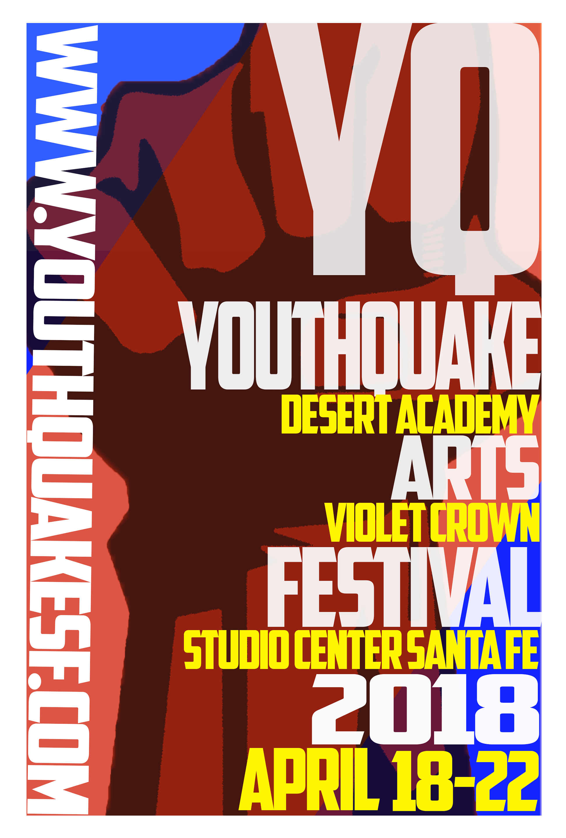 Youthquake - A student organized four day arts event of film, art, theater, and music.