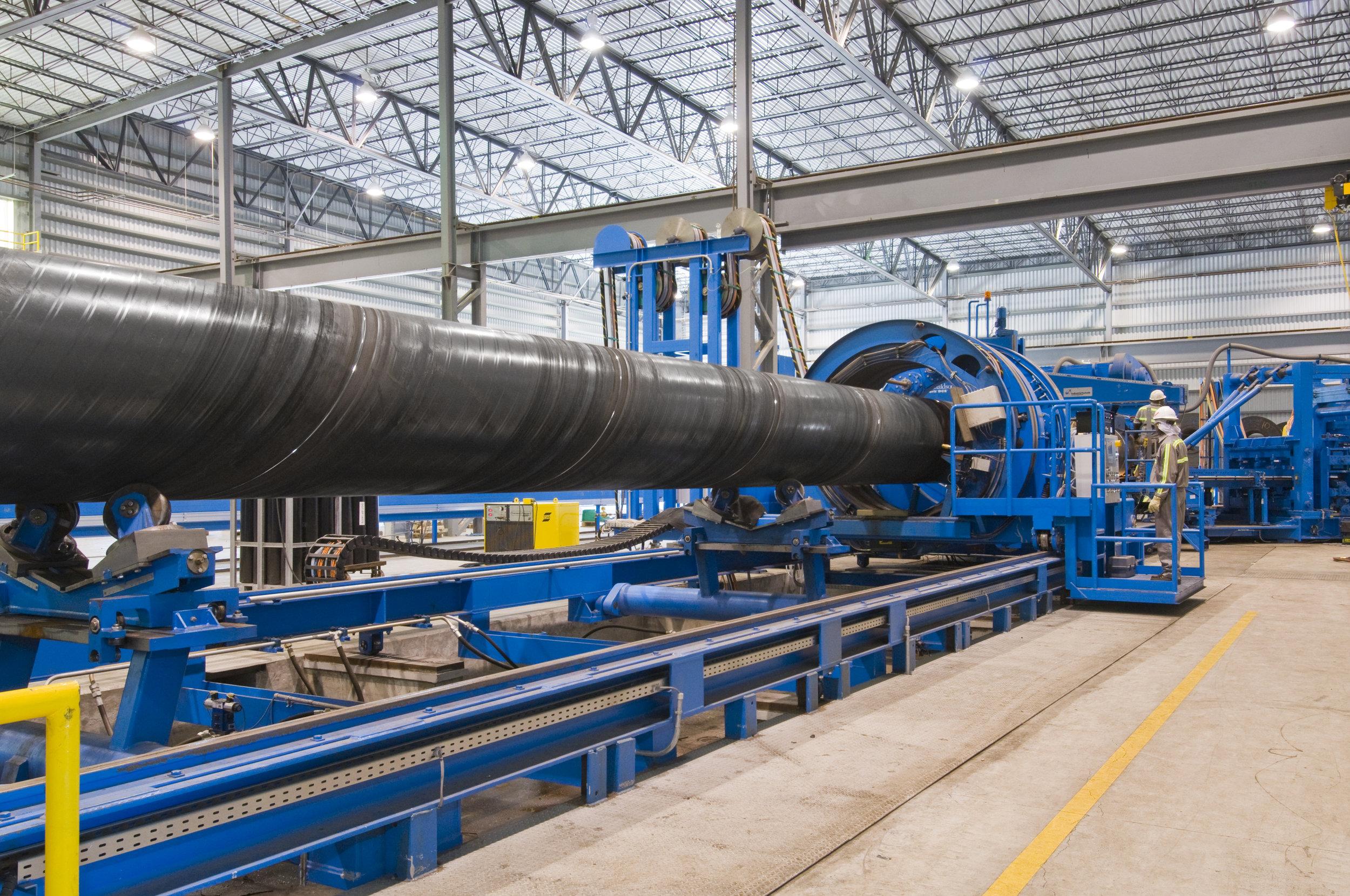 Cutting Steel, Steel Pipe Process