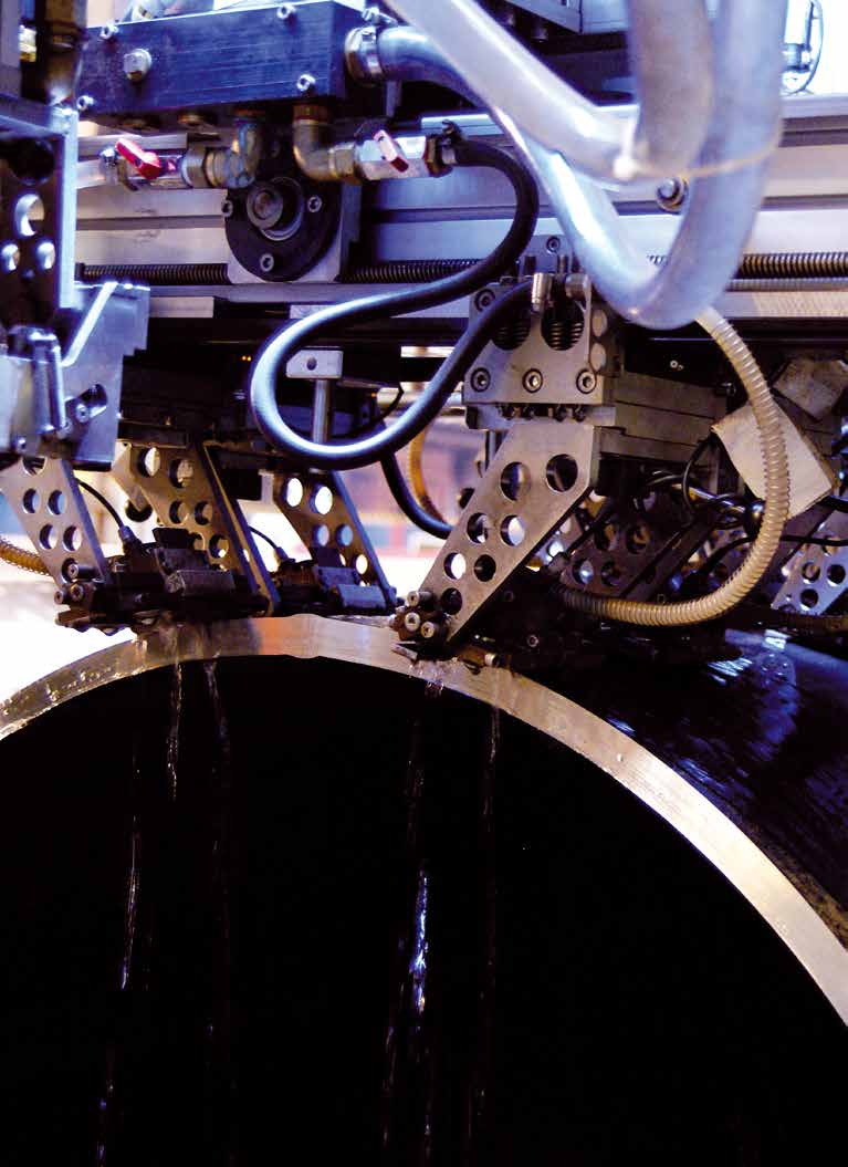 Automated Machine Work at Berg Pipe