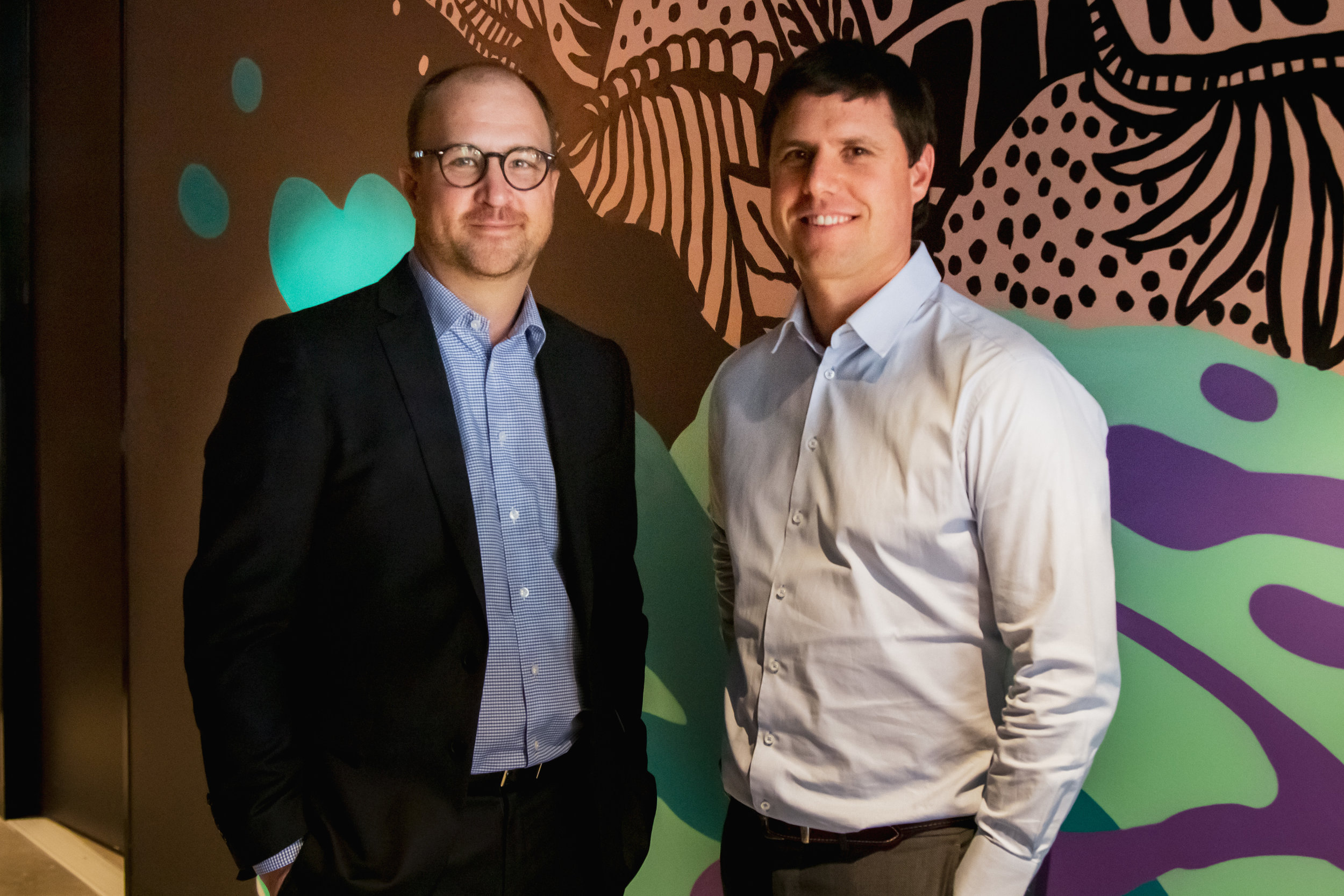 From left: Symple Loans co-founders, Bob Belan (CEO) and Paul Byrne (COO)
