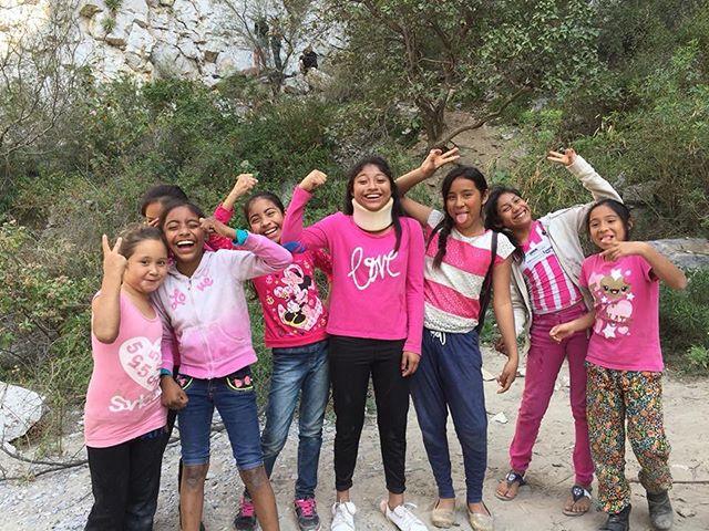 ¡Queremos que las niñas sean felices y vivan libres de violencia! 💪🏼🌸💗 #girlPower #EscalandoFronteras