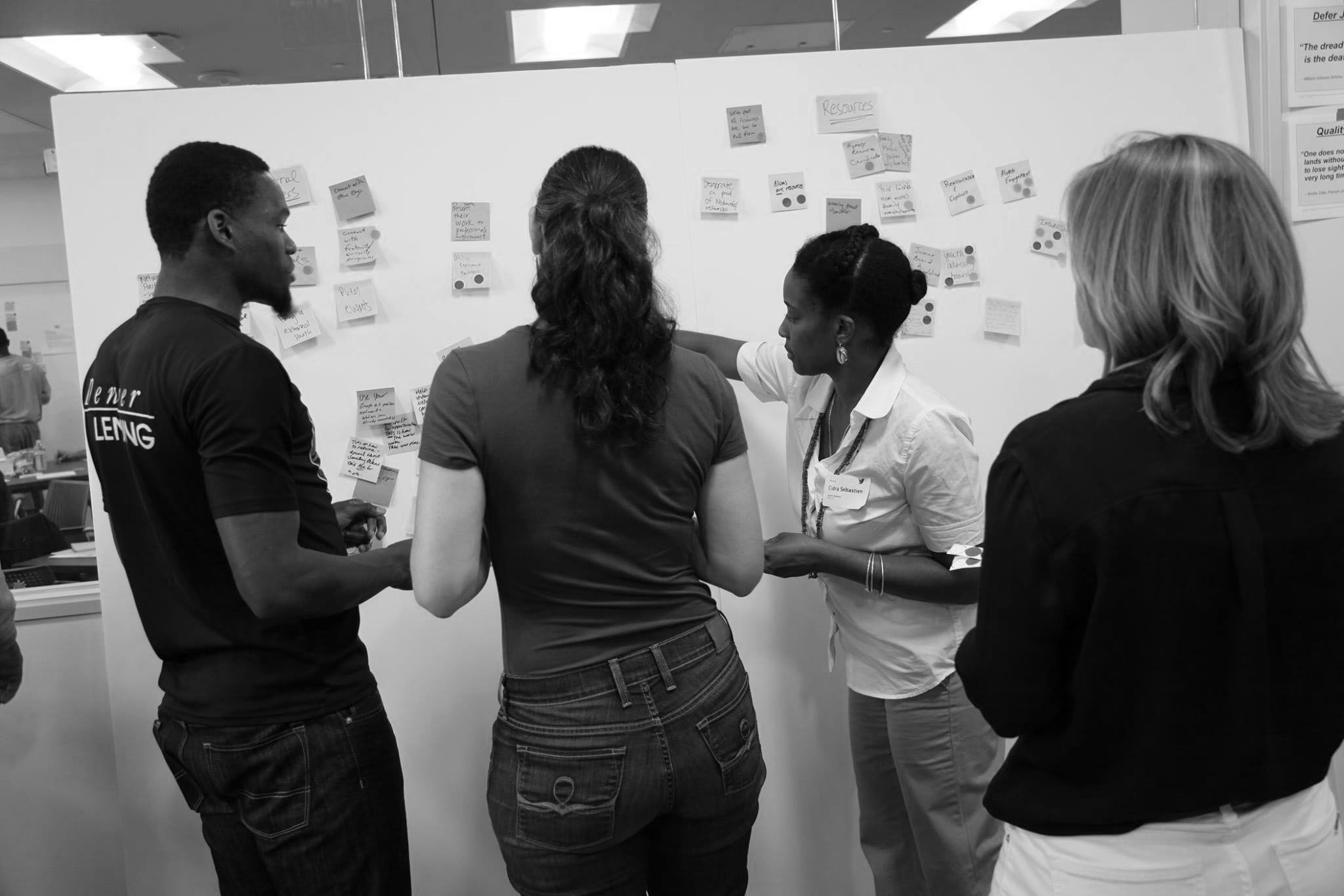 Read about our last Human Centered Design workshop. -