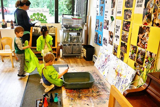 Exploring visual arts is just a day in the life for students at University Hill Preschool. We are walking distance from @wesbrookvillage ! We feature a deeply experienced teaching team boasting decades of facilitating the best early childhood education Vancouver has to offer. Register today for the 2019 - 2020 School Year!