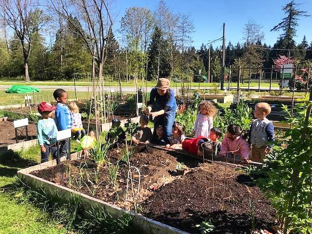 At University Hill Preschool, we are proud of our garden. The time spent cultivating amazing plants connects our community to the earth. 🌱 Our students all learn the science behind the life cycle of plants. Young minds crave a connection to the natural environment, so we provide the setting and the tools to thrive. Registration now for the 2019-2020 school year! Spots are filling up!