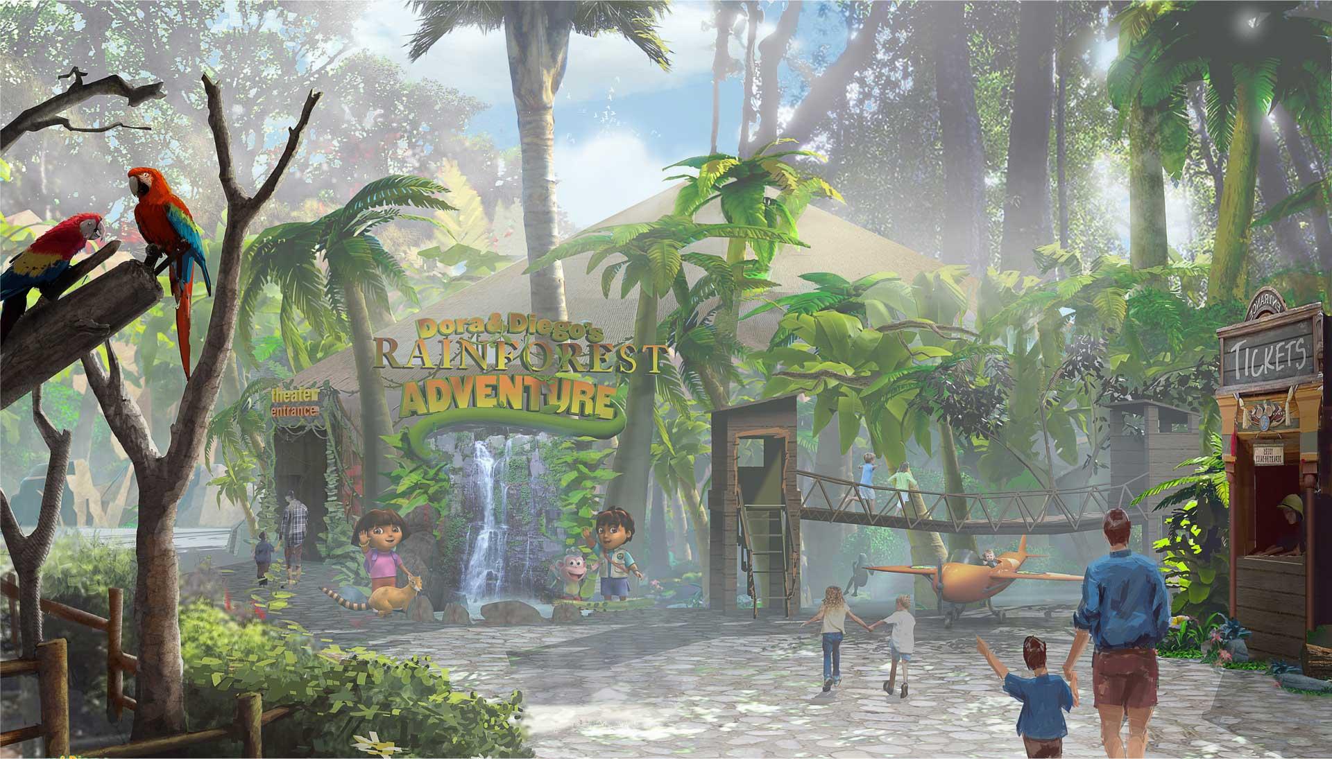"""""""Dora and Diego's Rainforest Adventure,"""" San Diego Zoo"""