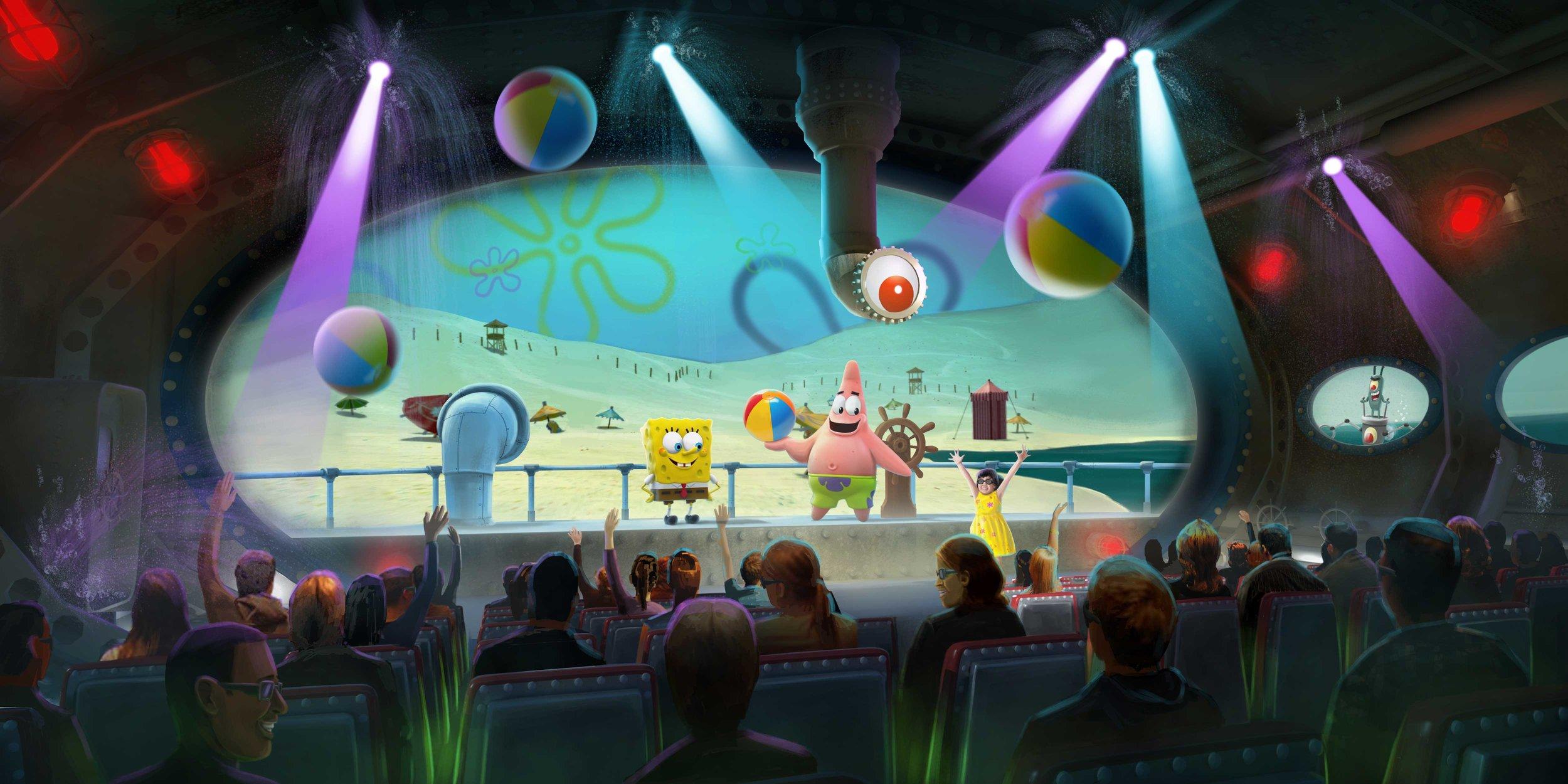 "'SpongeBob SubPants Adventure,"" Geppetto Experience, Moody Gardens"