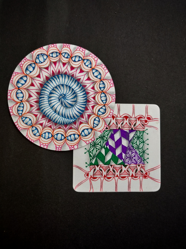 Introduction to Fun Color Tangles
