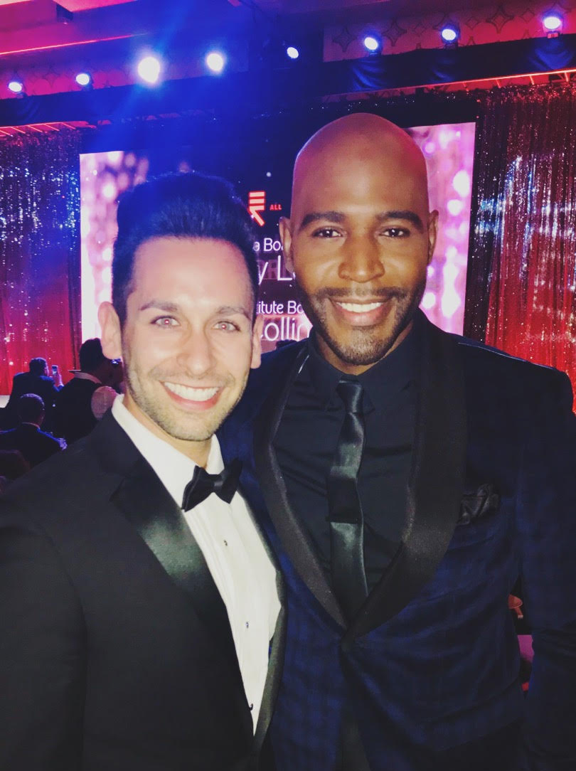 Pablo Benavente (Left, Government Relations Manager at Turo), Karamo Brown (Right)