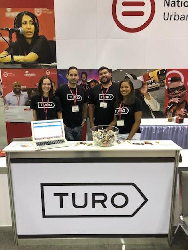Team Turo representing Turo HQ at the conference