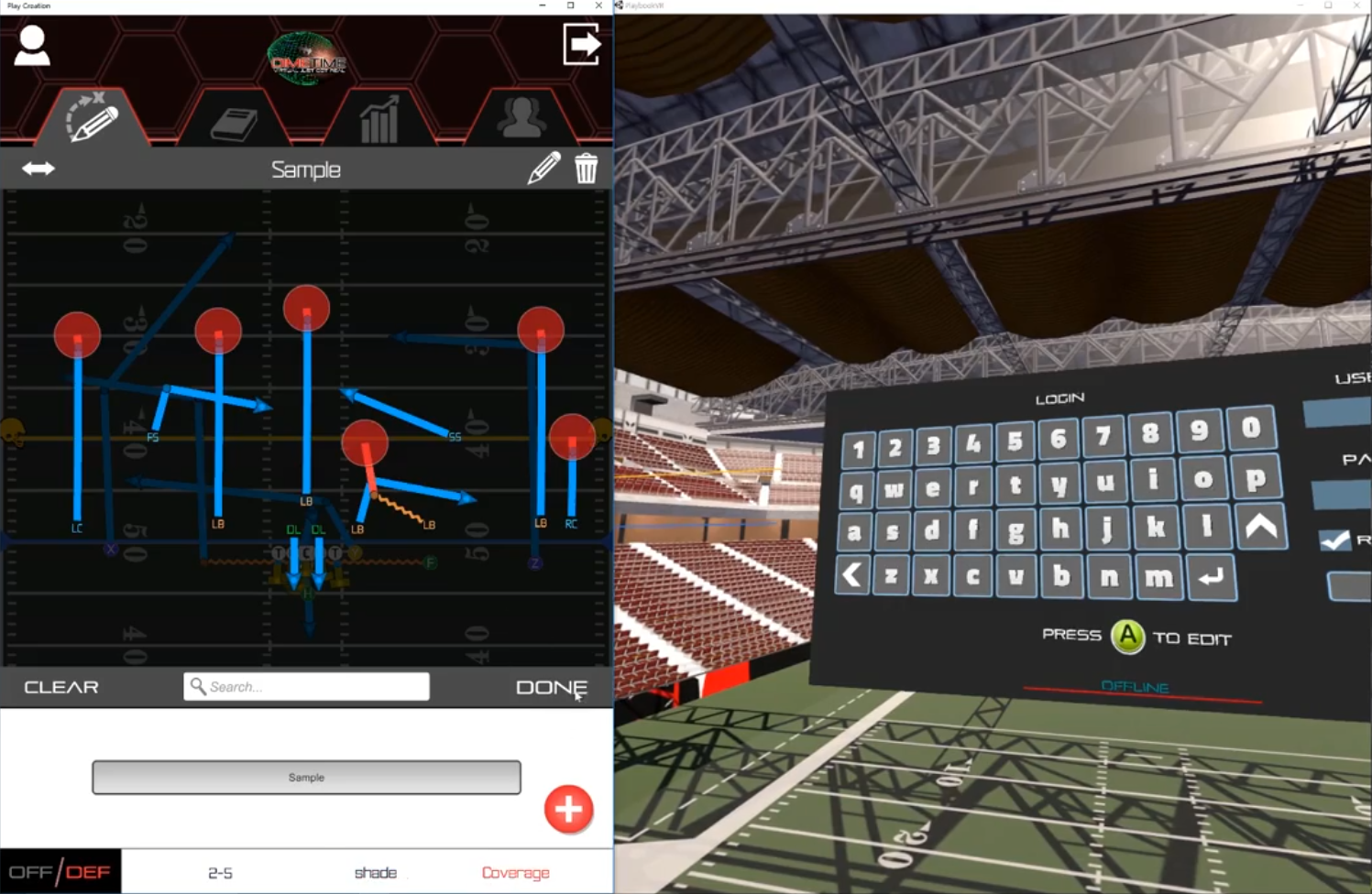 Coaches can save and edit plays with ease, then securely upload them to the cloud.