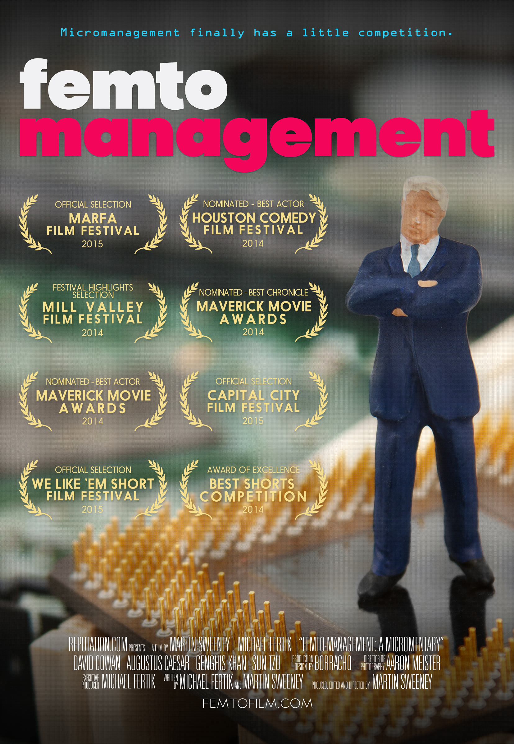 Femto-Management - A MICROMENTARY