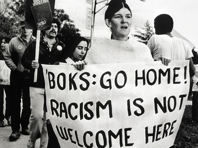 '81 Springbok Tour - Women Against the Tour -