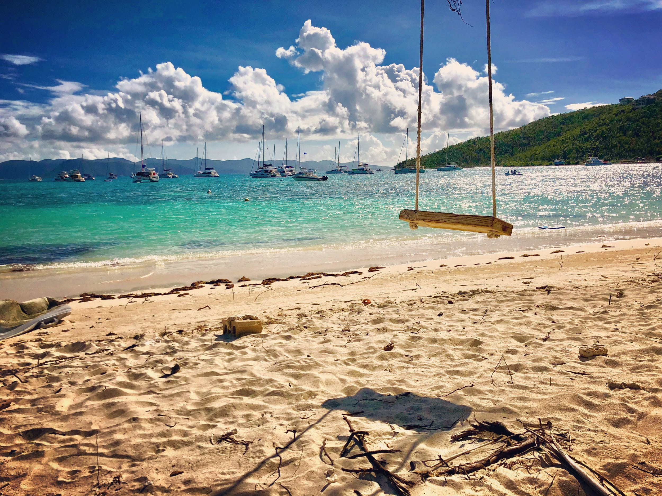 Looking out at Great Harbor, Jost Van Dyke