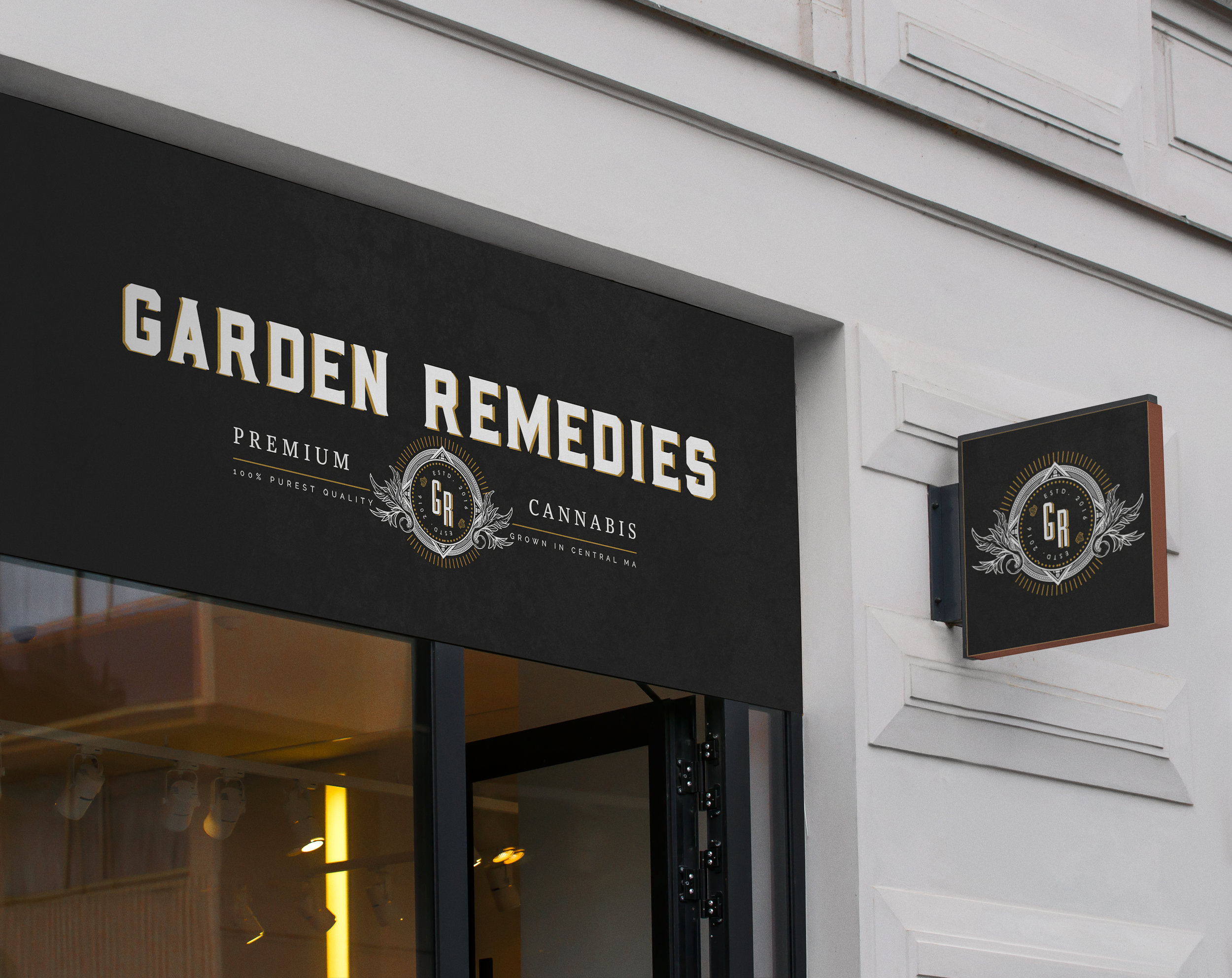 Garden Remedies - Brand Development . Packaging System . Web Design . Content Development . spatial design
