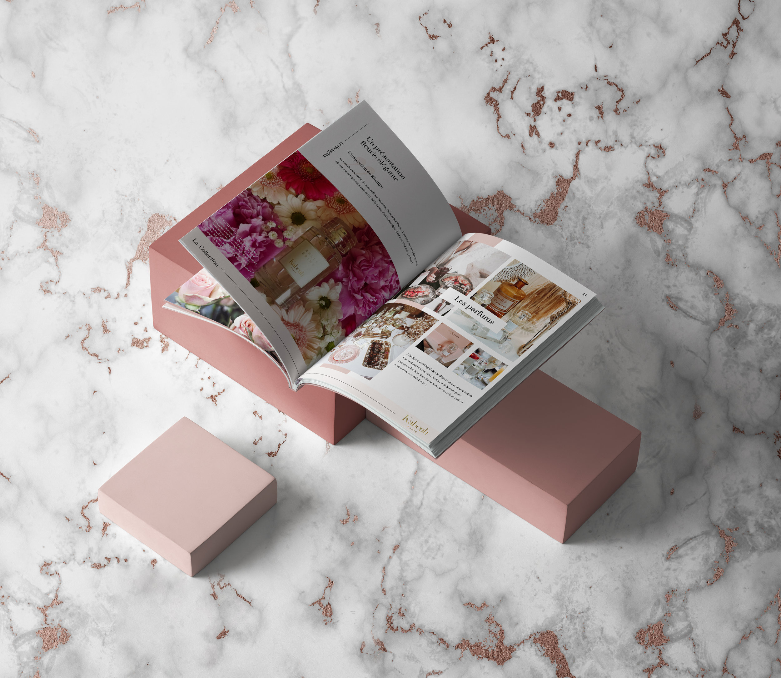 Kabeah Paris - Lookbook/Magazine design- English + French