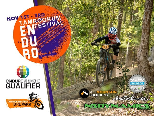 **Tamrookum Enduro Festival 2019** This is going to make your hump day a whole lot better!  Rego is now open for the Tamrookum Enduro Festival 2019.  3 days of non stop gravity focused action with Sunday the 3rd going all out for the EWS Qualifier.  We are also kicking off our first Electric Enduro over that weekend!  Enter Now @ https://www.allmountainsolutions.com/tamrookum-enduro-festival  @nsdynamicsmtb @shimanoaustralia @fortheridersmtb @emsenduro