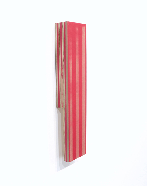 Ben Dallas About Nothing 21, 2018 Acrylic Glaze, Board, Plywood, Wood filler 13 x 3 x 1.88 inches x 2.25 inches