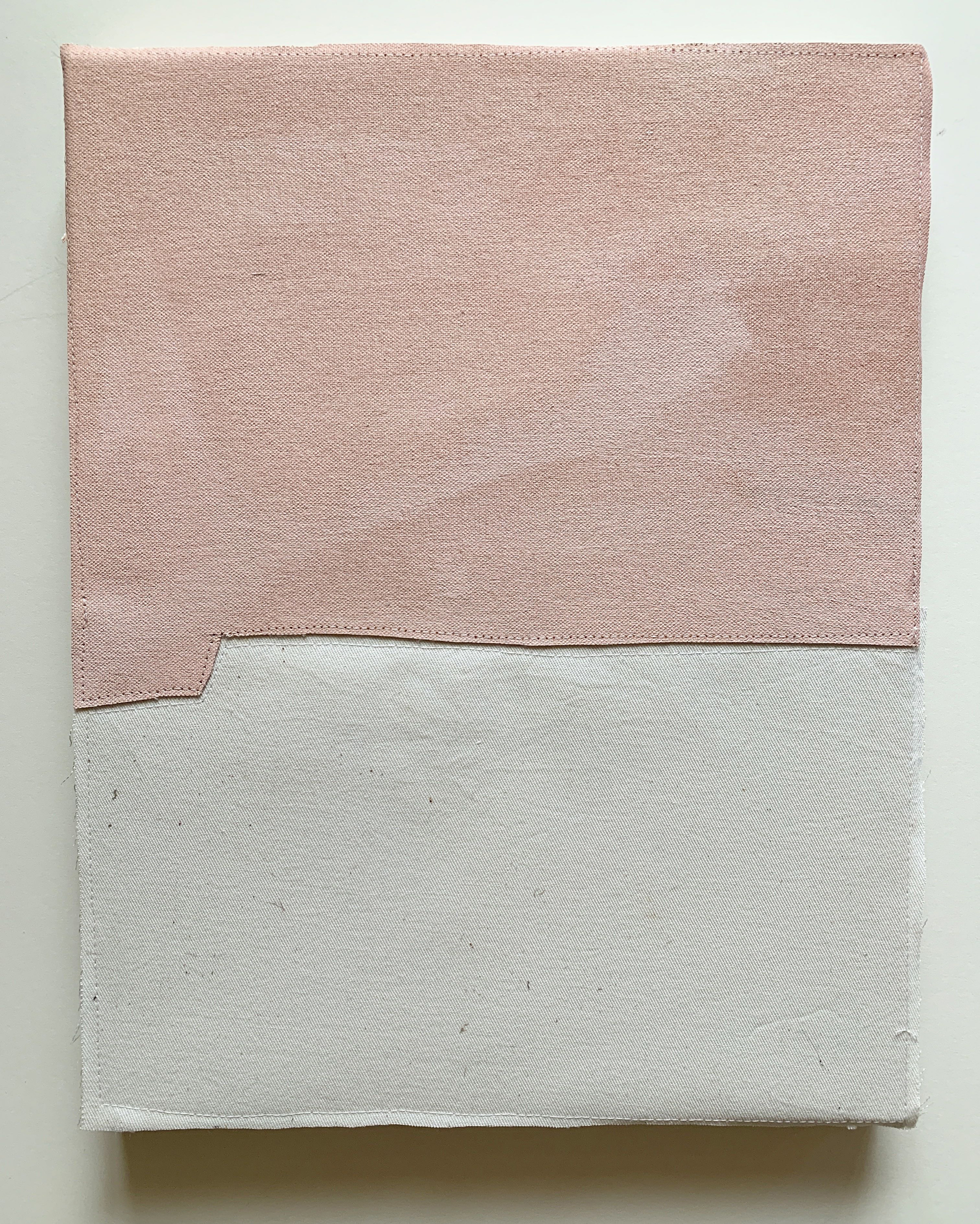 Jonathan Parker SC # 95, 2019 Acrylic on canvas, sewn 14 x 11 inches