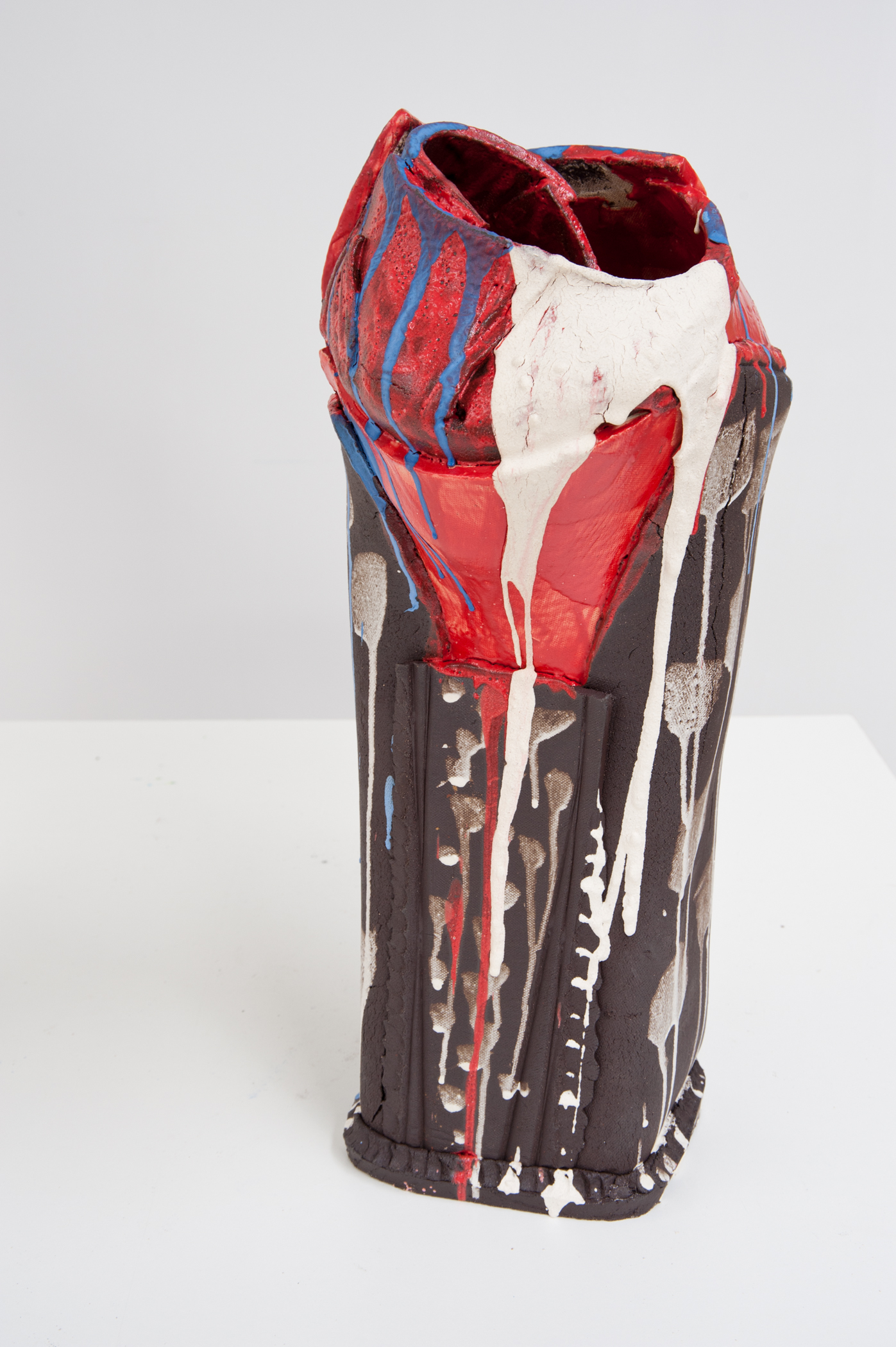 Torn Vessel I, Todi IV , 2012 Terracotta Clay 21 x 9 inches