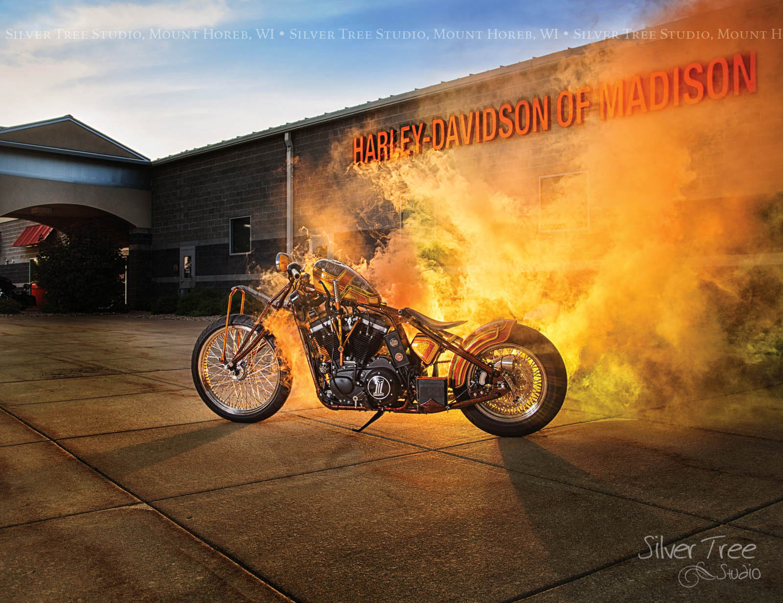 Commissioned by Harley Davidson of Madison
