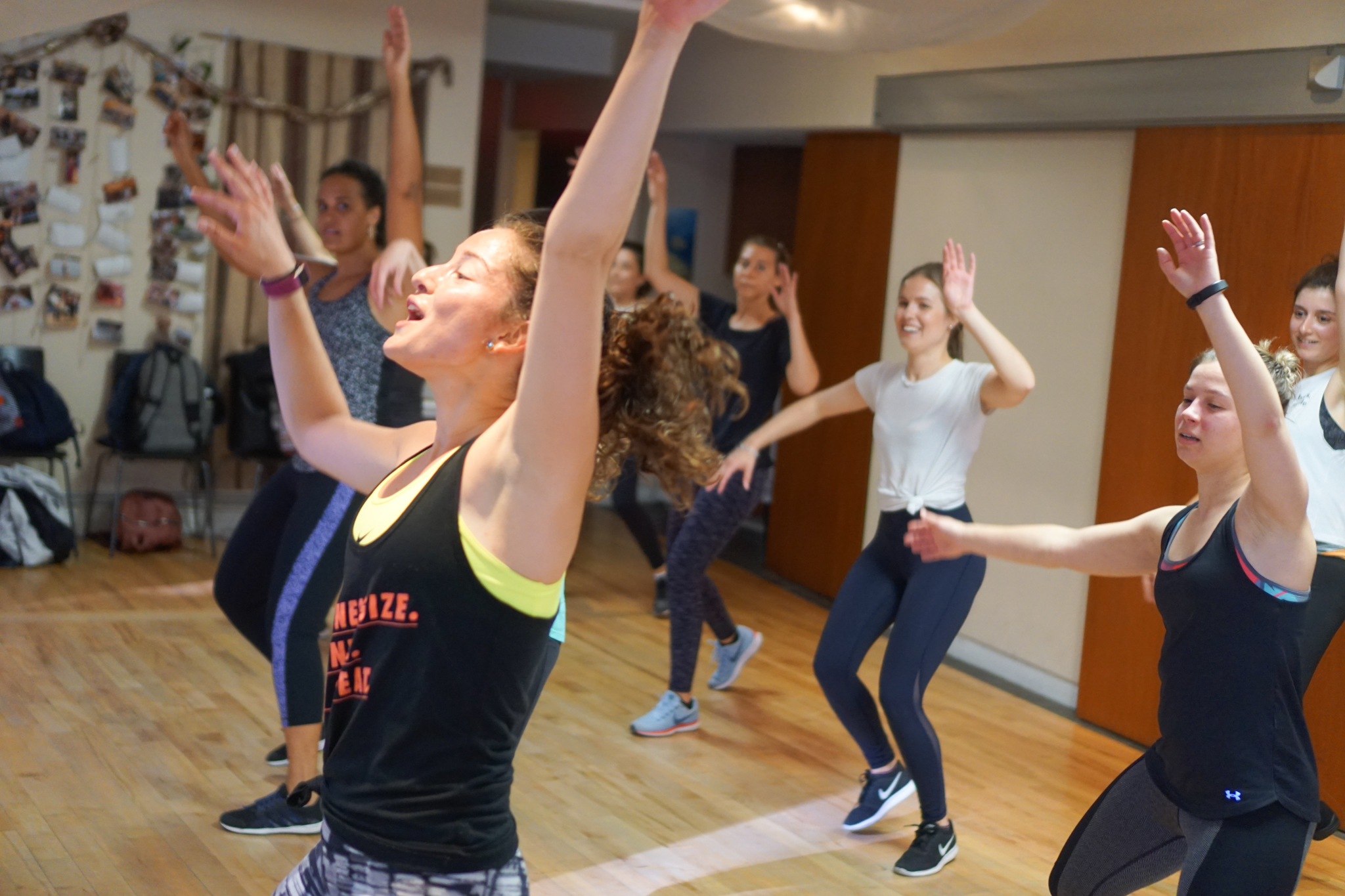 Building community one grapevine at a time - Dance Cardio June 2018