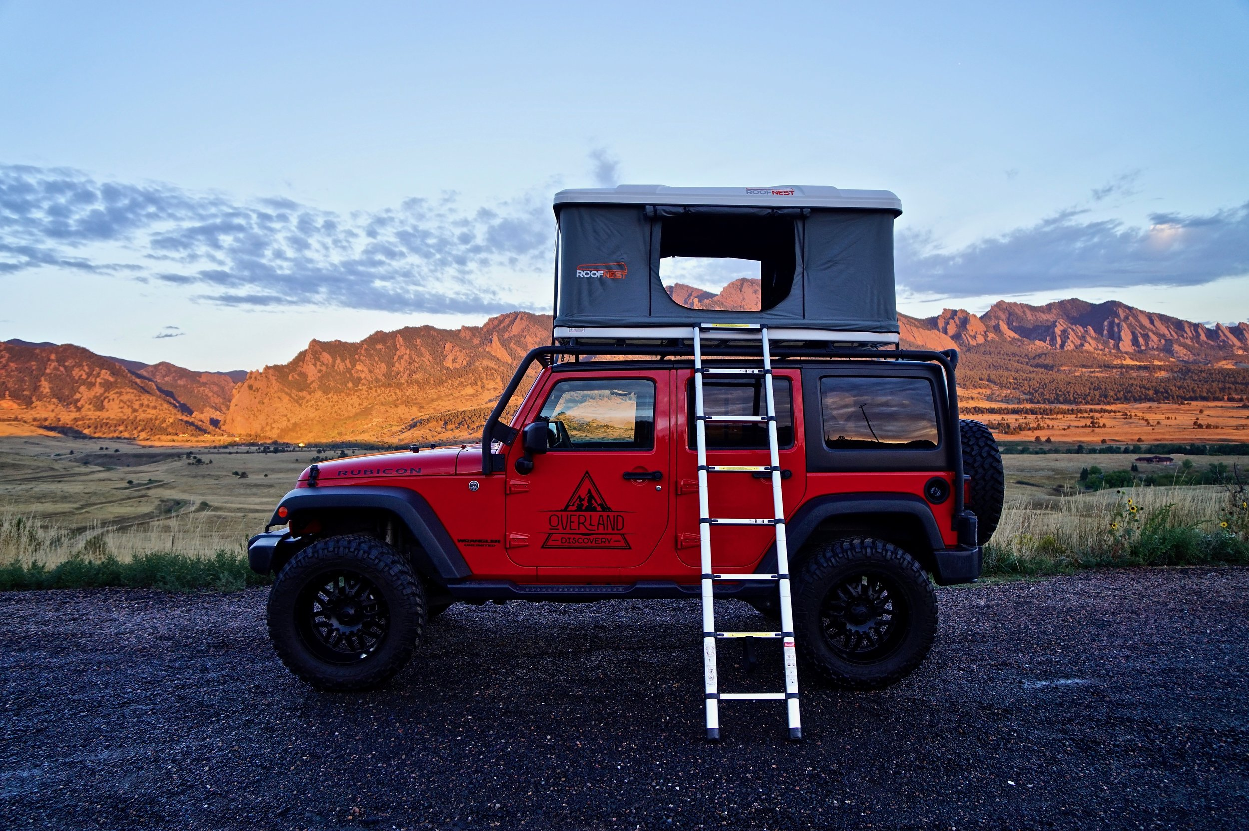 Jeep Wrangler Rubicon Roof Top Tent
