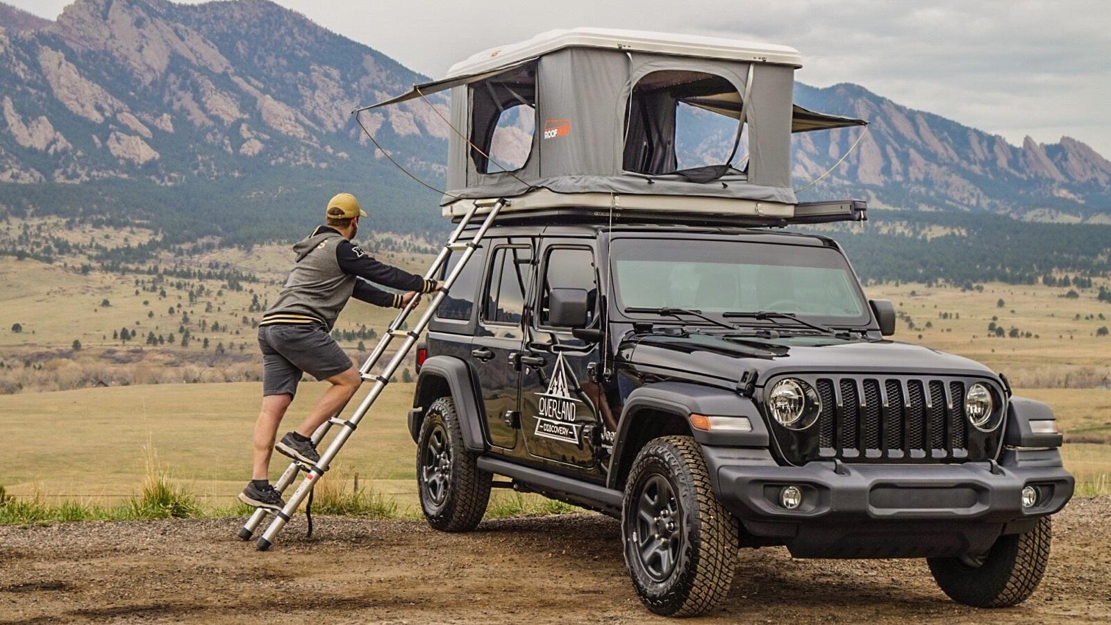Jeep Wrangler Sport Roof Top Tent
