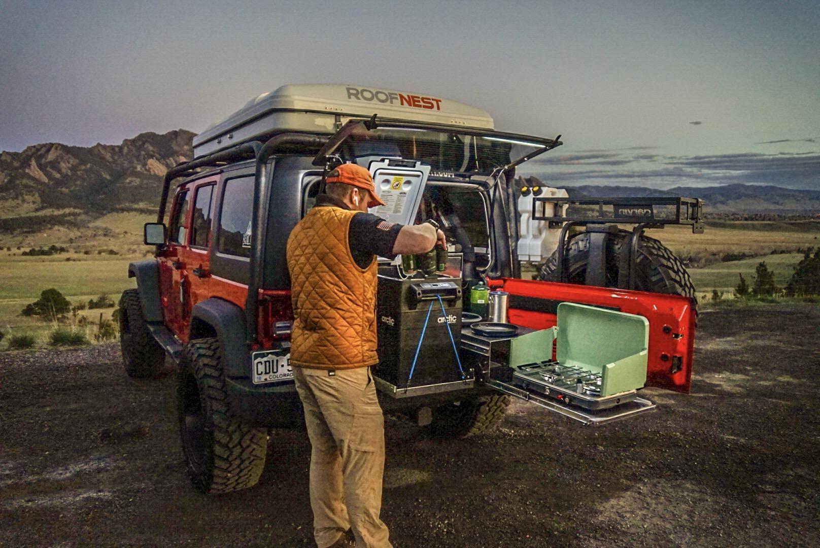 Jeep Wrangler Rubicon Overlanding vehicle