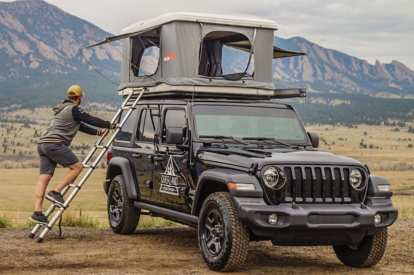 Jeep Camper Rental Overview — Overland Discovery®