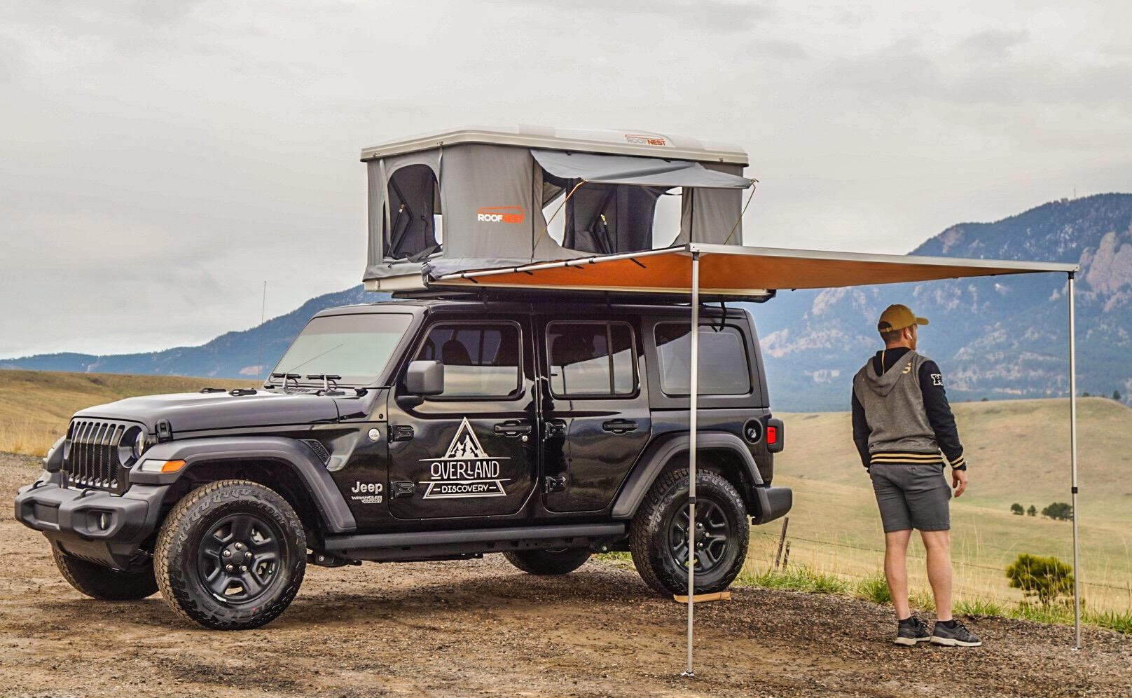 Jeep Wrangler Sport w/Awning