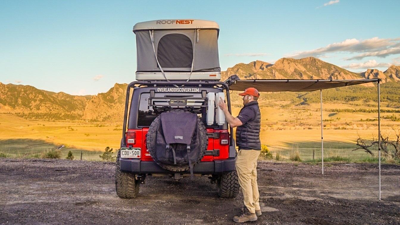 Jeep Wrangler Rubicon Water Storage System