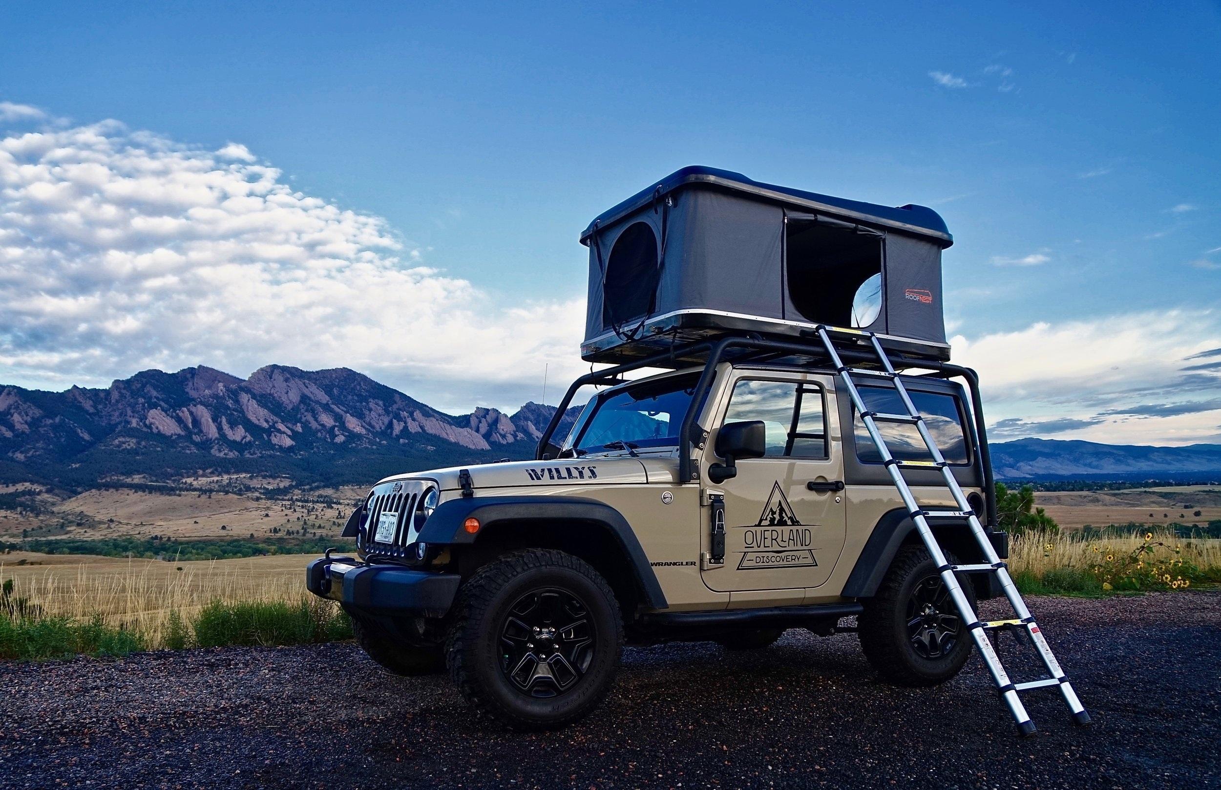 Jeep Camper Rental 2-Door — Overland Discovery®