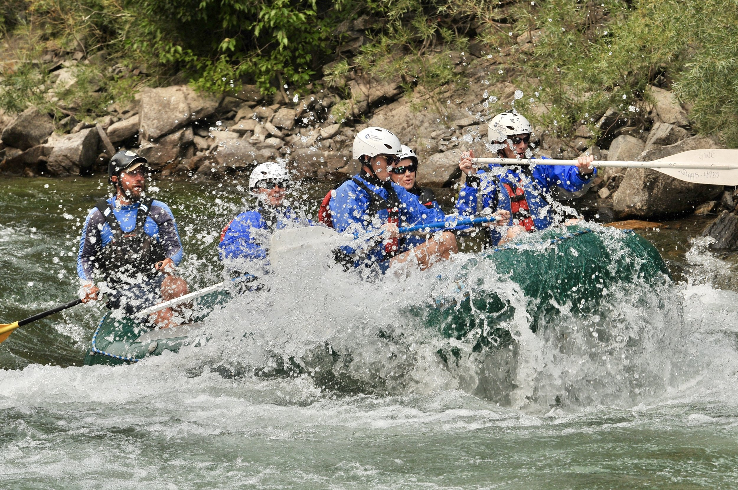 White water rafting in Buena Vista, Colorado
