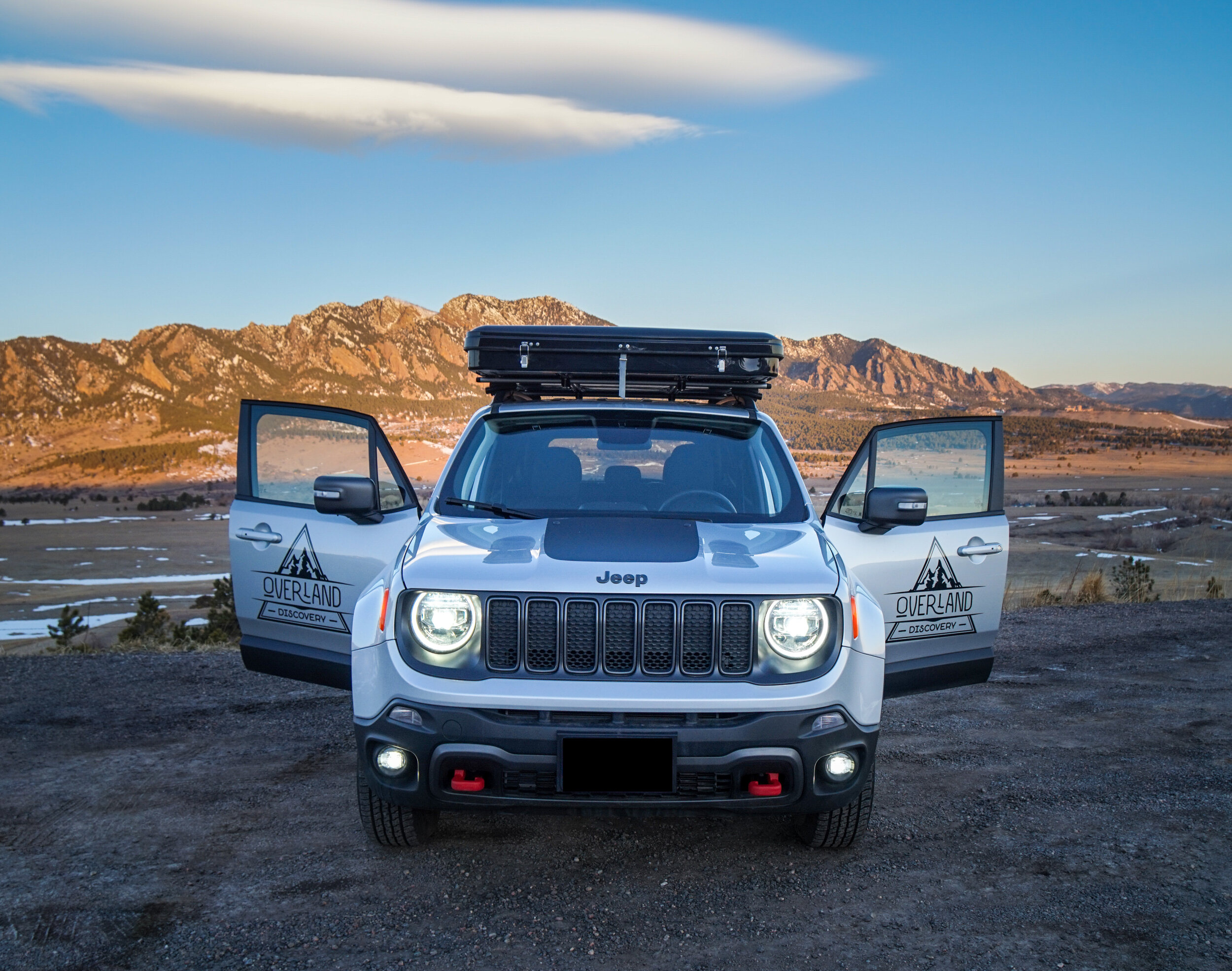 Jeep Renegade Camper With Roof Top Tent Overland Discovery